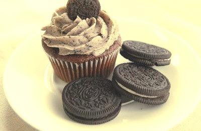 Oreo, Cupcake, Chocolate
