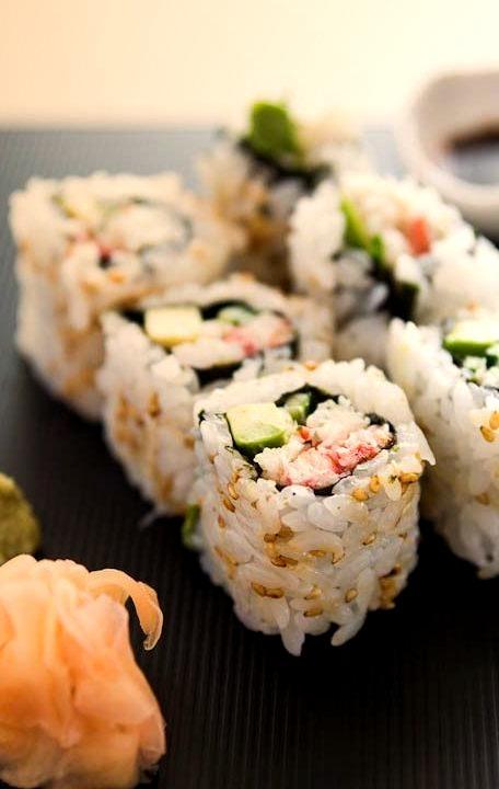 Sushi, Avocado