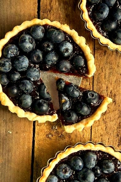 Fig And Blueberry Tarts
