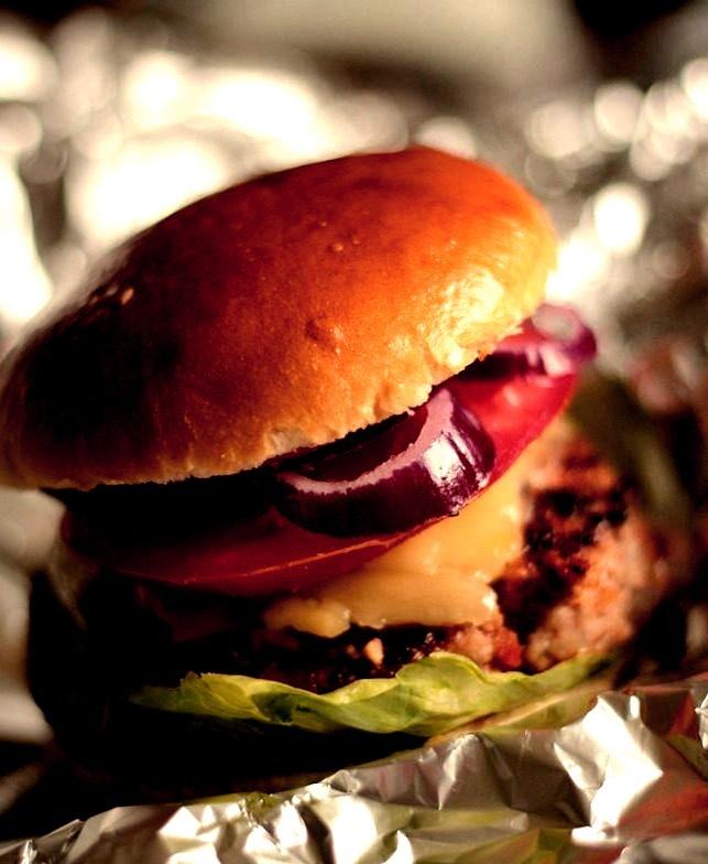 Candied Bacon Double Cheeseburger