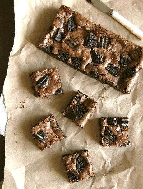 Cookies and Cream Fudge Brownies Technicolor Kitchen