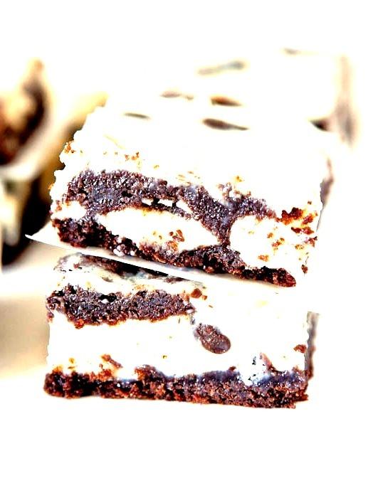 White Chocolate,Dark Chocolate and Cream Cheese Bars