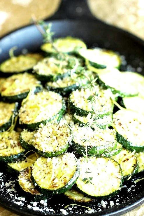 Parmesan Lemon Zucchini