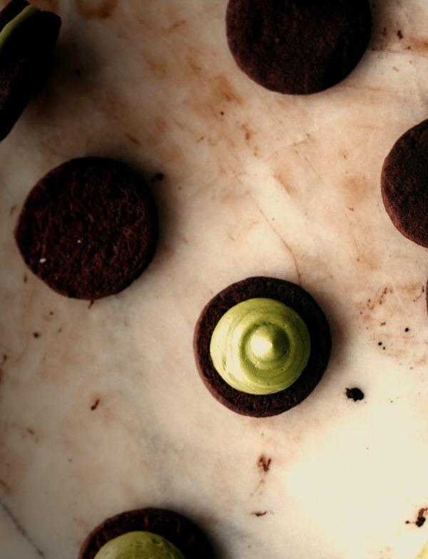 Matcha Dots Molly Yeh