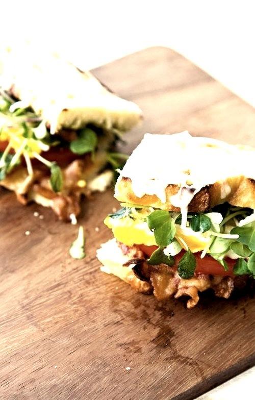 B.E.L.T (bacon, egg, lettuce, tomato sandwich)